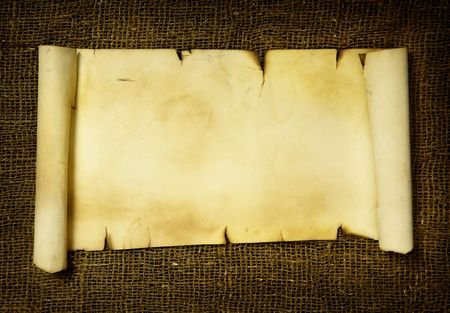 Ancient scroll,  put your own text here Stock Photo - 5508641