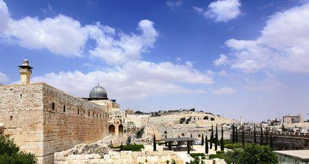 Al-Aqsa mosque in Old City of Jerusalem, Israel photo