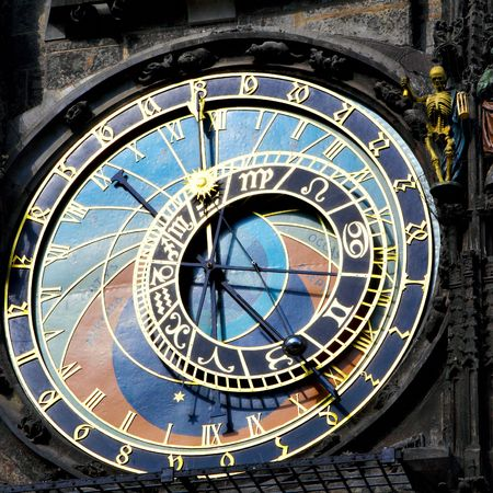 horologe: Old astronomical clock in Prague, Czech Republic (The Horologe)