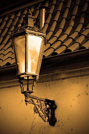 Old street lantern at Prague, Czech republic Stock Photo - 5762243