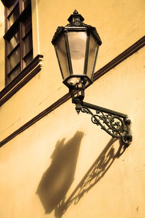 Old street lantern at Prague, Czech republic Stock Photo - 5842462