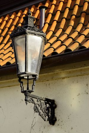 Old street lantern at Prague, Czech republic Stock Photo - 5842463