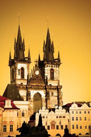 Church of Virgin Maria Before Tyn, Prague, Czech republic Stock Photo - 6312492