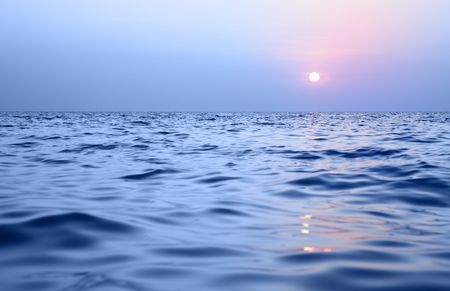 Sea and sky, may be used as background Stock Photo - 6362691