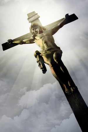 The Crucifixion - The Jesus on the cross Stock Photo - 6431208