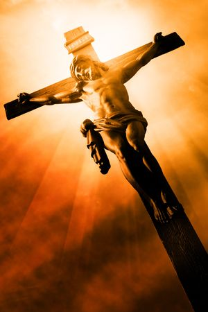 The Crucifixion - The Jesus on the cross Stock Photo - 6579997