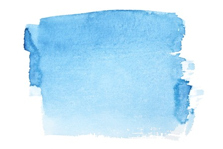 daub: Blue watercolor brush strokes, may be used as background