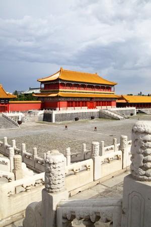 Gong: The Forbidden City (Gu Gong), Beijing, China Stock Photo
