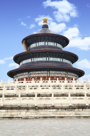 The Temple of Heaven (Tian Tan) at Beijing, China photo