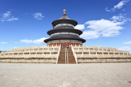 The Temple of Heaven (Tian Tan) in Beijing, China photo