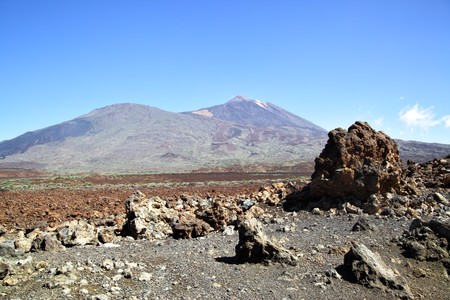 clinker: Clinker vicino vulcano Teide. Tenerife, Canarie