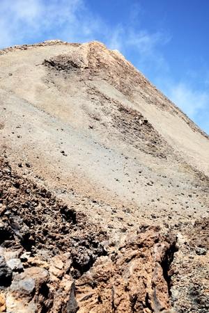 clinker: Clinker near the Teide volcano. Tenerife, Canary Islands