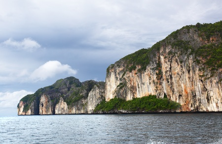 Andaman sea and Phi Phi islands in Thailand photo
