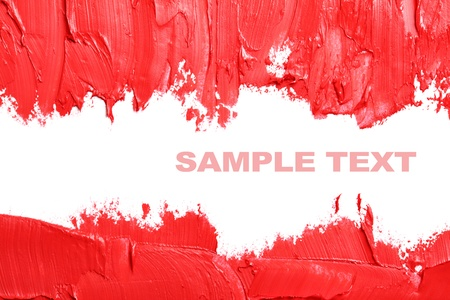 Red abstract background with space for your own text photo