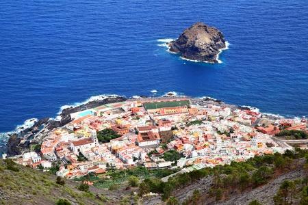 Garachico town on the coast of Tenerife.  Canary Islands. photo