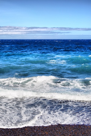 rote: Ocean surf. Tenerife, Canary Islands.  Stock Photo