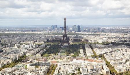 sightseeng: Aerial panoramic view of Paris, France