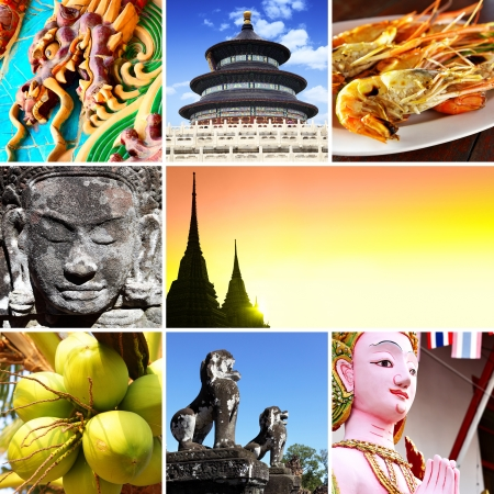 Asia - Set of shots from South-East Asia Stock Photo - 12165910