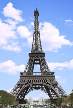 The Eiffel Tower in Paris, France photo