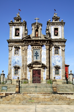 Church of Santo Ildefonso in Porto, Portugal photo