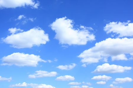 fleecy: Clouds, may be used as background