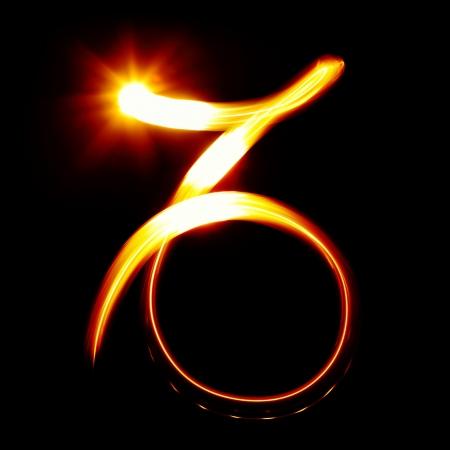 capricornio: Capricornio. Signos del zodíaco colección Foto de archivo