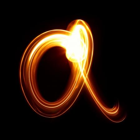 may�sculas: A - Creado por luz min�sculas
