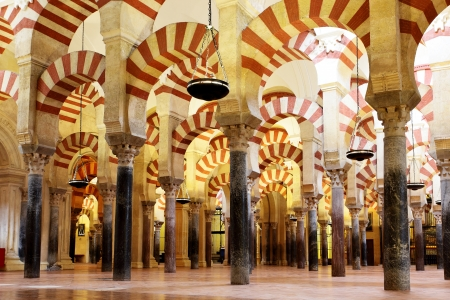 The Great Mosque of Cordoba (Mezquita), Spain