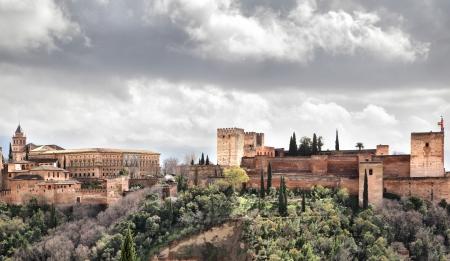 granada: Alhambra palace, Granada, Spain