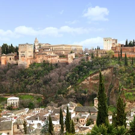 granada: Alhambra palace in Granada, Spain