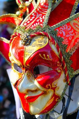 masque de venise: Masque traditionnel venise close-up Banque d'images