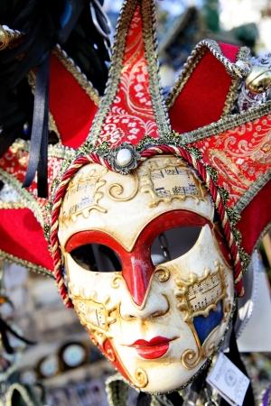 masque de venise: Venise, Italie - 2 octobre 2013 traditionnel venise masque Harlequin � �tal de march�