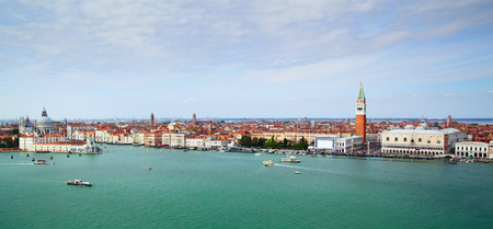 Panorama of Venice photo