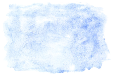 Blue watercolor brush strokes, may be used as a background photo