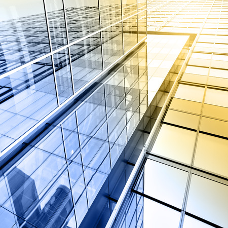 wealth management: Office building close up Stock Photo