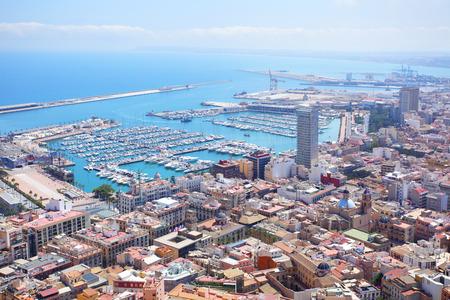 alicante: Panoramic view of Alicante, Spain