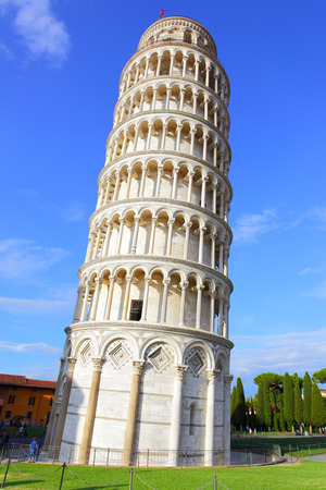 The Leaning Tower of Pisa in Italy photo