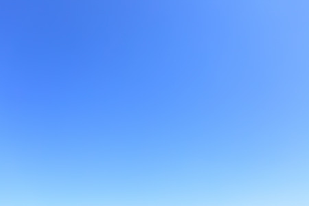 Clear cloudless blue sky, may be used as background