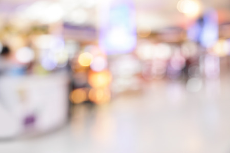 free backgrounds: Background of duty free shop in airport out of focus Stock Photo