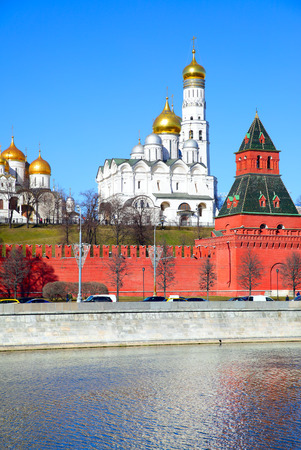 View of The Moscow Kremlin, Russia