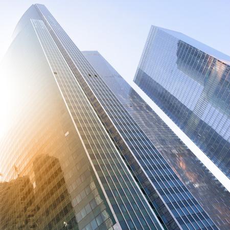 sky scraper: City - modern office buildings
