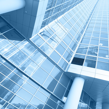 administrative buildings: Office buildings - modern architectural and business concept