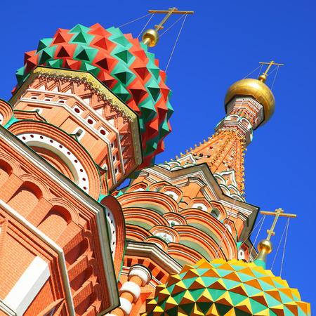 st  basil: Domes of St. Basil Stock Photo