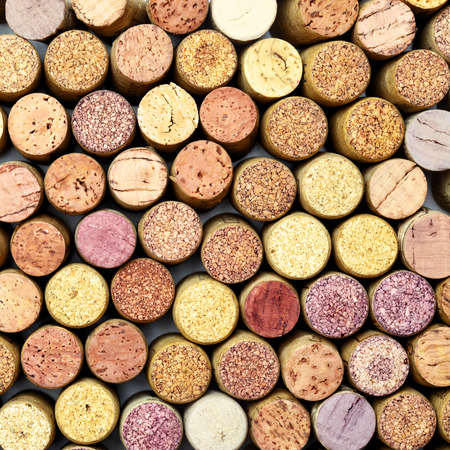 butt: Butt ends of wine corks, may be used as background