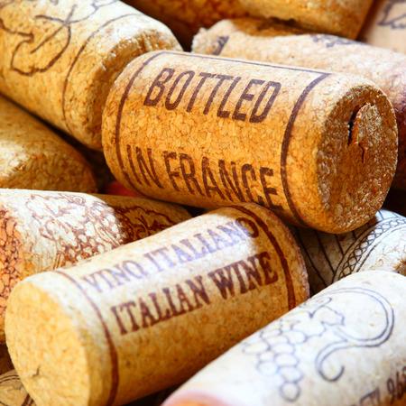 corcho: corchos de vino se cierran para arriba. DOF superficial!