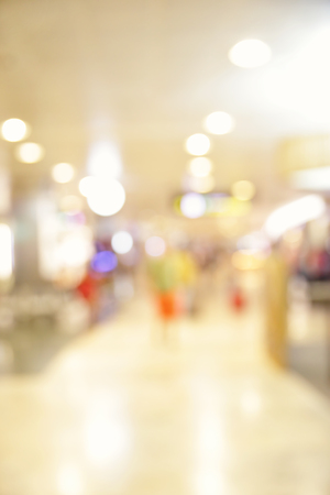light duty: Hall of airport out of focus - defocused vertical background Stock Photo