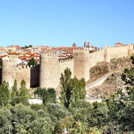 castile leon: View of Avila, Castile and Leon, Spain