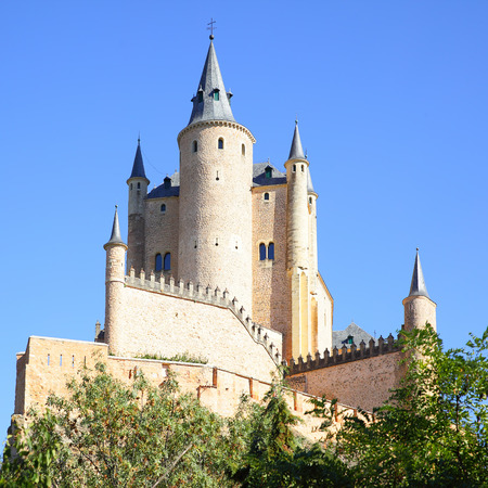 alcazar: Castle of Segovia Alcazar, Spain
