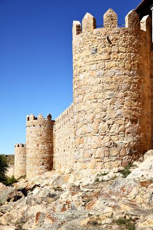 fortification: Fortification of Avila, Spain