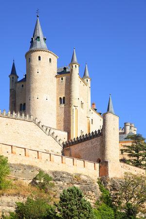 alcazar: View of Castle of Segovia Alcazar, Spain